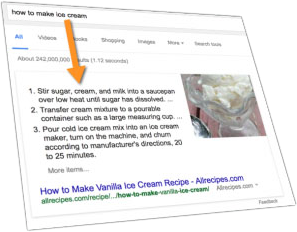 definition-Featured Snippet