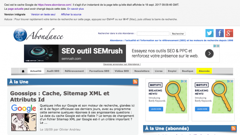Definition Du Cache Google Definitions Seo