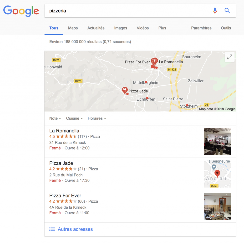 Definition De Pack Local Definitions Seo